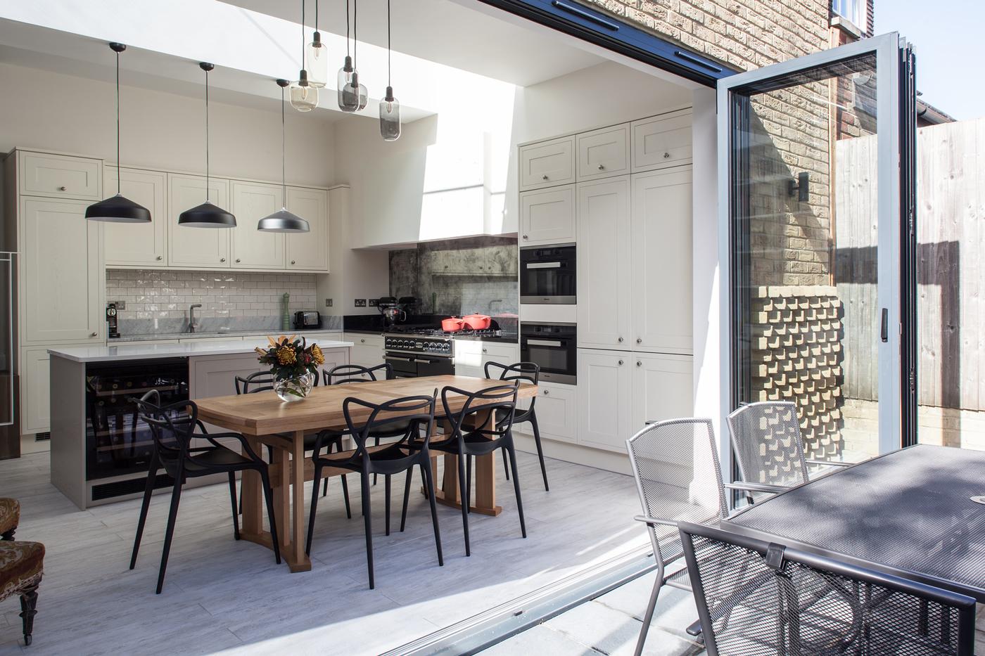 Harcourt Road East – Kitchen / diner extension