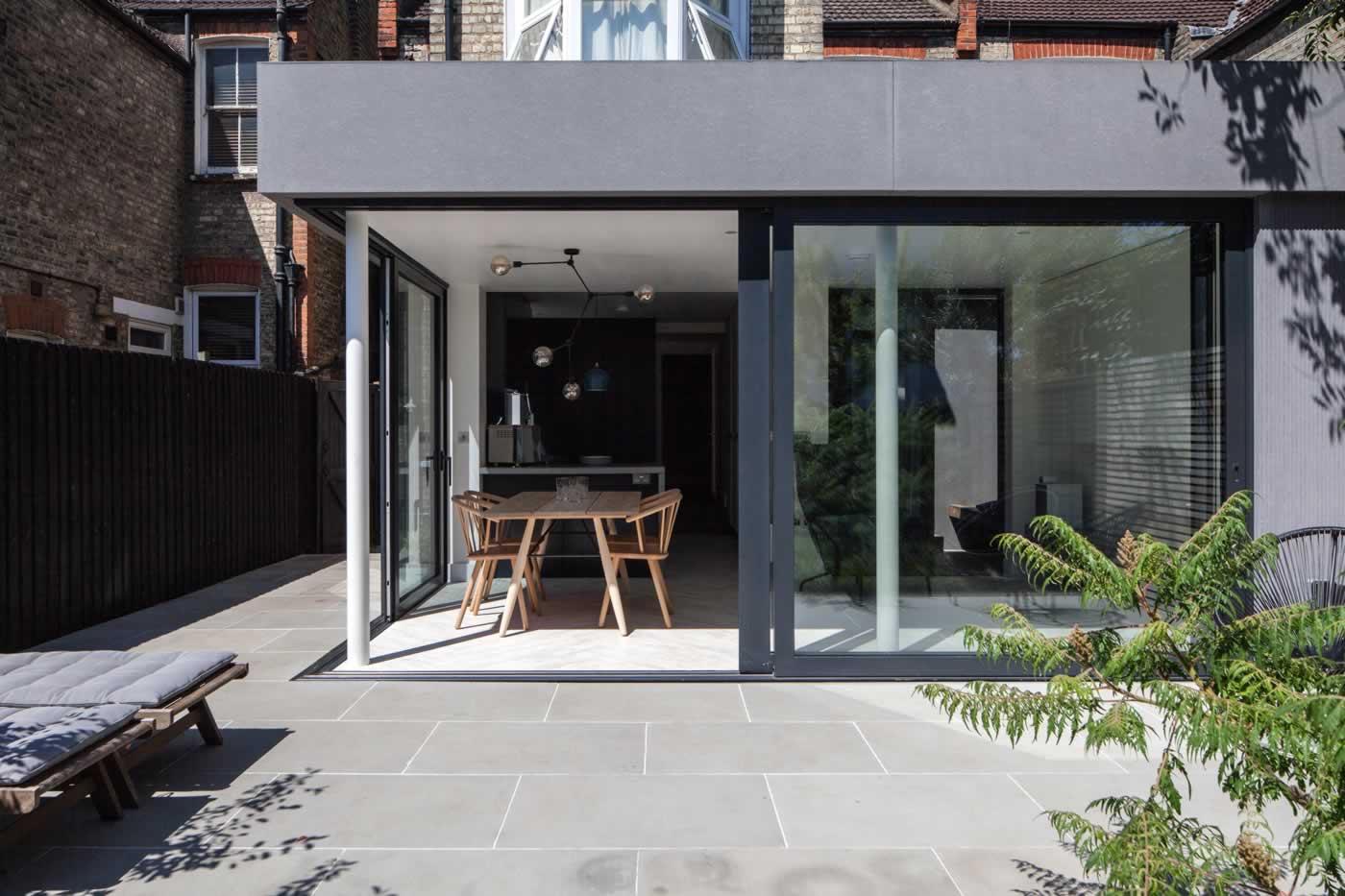 Queensbridge Road Hackney, East London Kitchen / diner extension