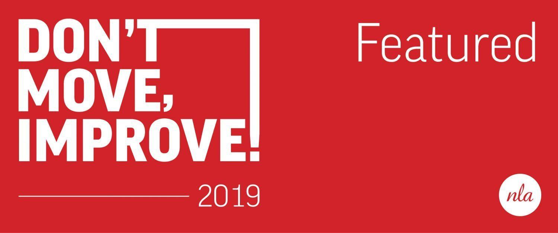 Don't Move, Improve! 2019 Awards